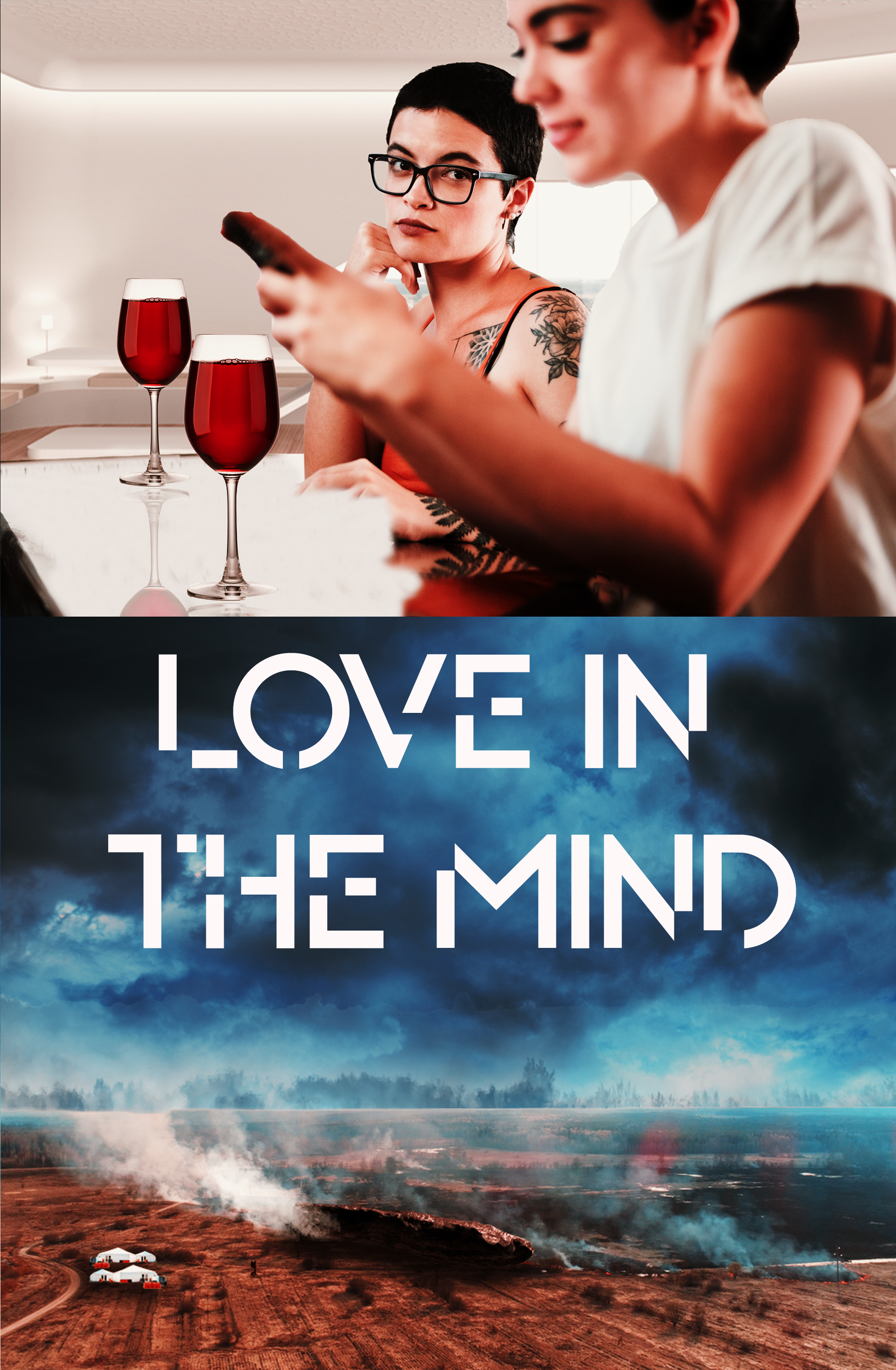 Love In the Mind Front Cover